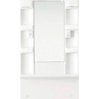 洗面台のミラーキャビネット新品60センチ曇り止め付き11/29広島