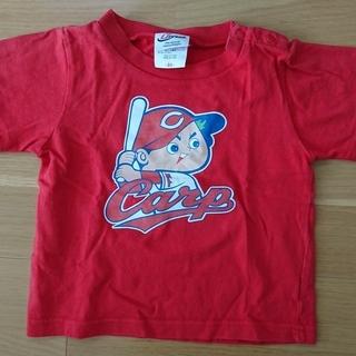 90cm  カープ坊やTシャツ(赤)90cm