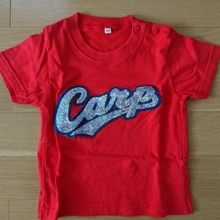 90cm  広島東洋カープ スパンコールTシャツ(赤) 90cm