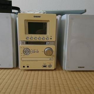 SONY ソニー コンポ HCD-M35WM ホワイト