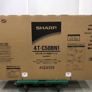 シャープ AQUOS 4K液晶テレビ 50V型 4T-C50BN...