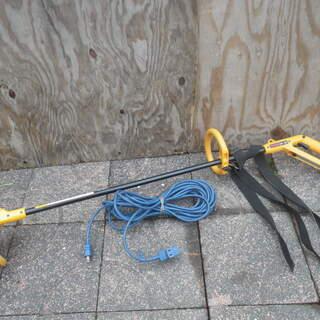 リョービ 電気刈払機 AK-180 延長コード付き 草刈