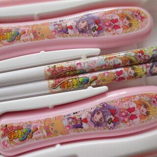 プリキュア お弁当巾着 ナフキン お箸セット 3点セット - 名古屋市