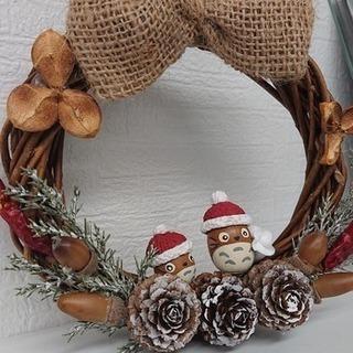 粘土屋さっちゃんの クリスマスの リースを作ろう