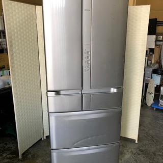 🌈🌟🌈引取限定‼️真空チルド室付き‼️6ドア冷蔵庫☝️😊