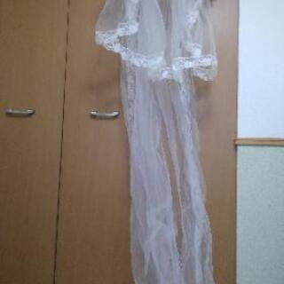 30年前に着たウェディングドレス差し上げます