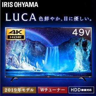 テレビ 4K 49インチ LT-49B620