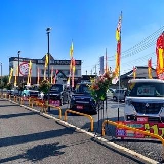 新車の軽自動車が月々1万円~(税別)