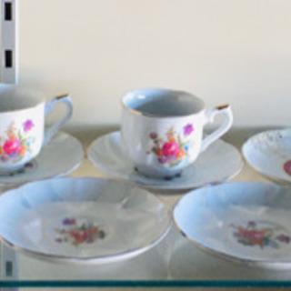 コーヒーカップ シュガーポット 受け皿 小皿