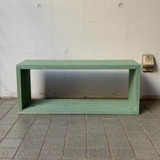 グリーンペイント 木棚 木枠