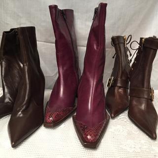 新品 婦人ブーツ 3点セット 在庫処分セール