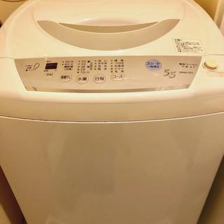 三菱電機 洗濯5.5kg全自動洗濯機 MAW-55Y