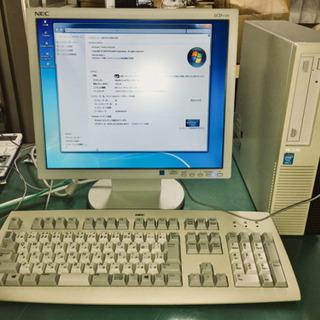 パソコン一式 純正office付 NEC MK34LL-H