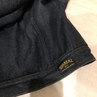 シュルリアル デニムライダースジャケット - 服/ファッション