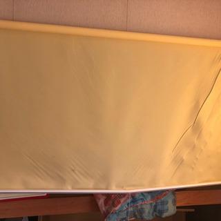 黄色のロールカーテン  約180✖️約200