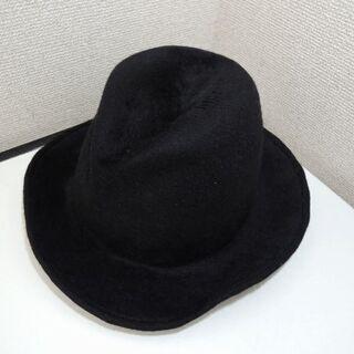 試着程度。CA4LA カシラ ウール ハット 帽子 ブラック サイズL