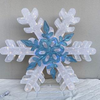 雪の結晶 イルミネーション 屋内外用