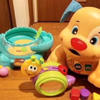 フィッシャープライスの知育玩具3点セット