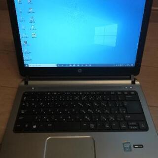 ノートパソコン☆hp probook Core i3 offic...
