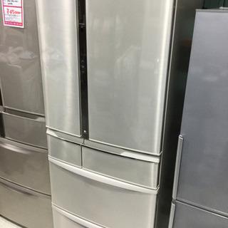 Panasonic 470L 6ドア ノンフロン 冷凍冷蔵庫 N...