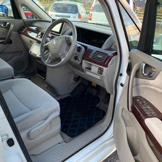 分割OK 安くて好調なエリシオン 車検3年7月 8人乗り 左側電動ドア 2400cc - ホンダ
