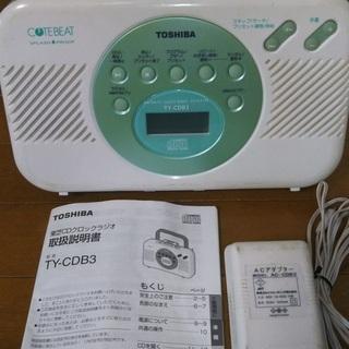 東芝CDクロックラジオ