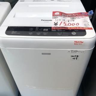 ☆中古 激安!! Panasonic 全自動電気洗濯機 5…