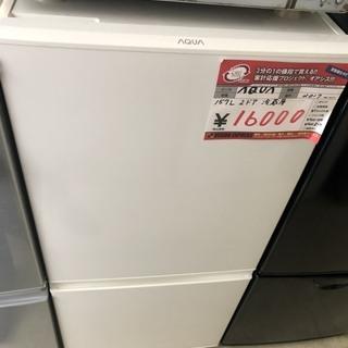 ☆中古 激安!! AQUA ノンフロン冷凍冷蔵庫 157L…