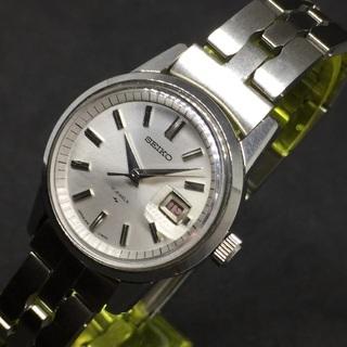 SEIKO セイコー レディース 手巻き時計 3針 デイデイトモ...
