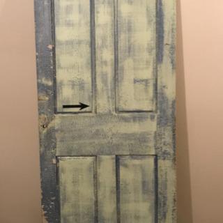 アンティークな古材使用 ドア 引戸