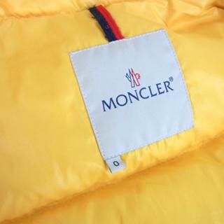 南12条店 本物 Moncler/モンクレール ダウンジャケット ベローネ イエロー サイズ0 - 売ります・あげます