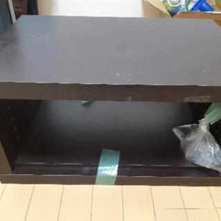 テレビ台(棚、棚を止める金具)