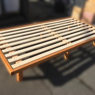 【自社配送は札幌市内限定】ベッドフレーム シングルベッド 木製 ...