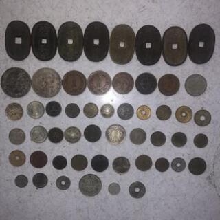 昔のお金(紙幣、硬貨)