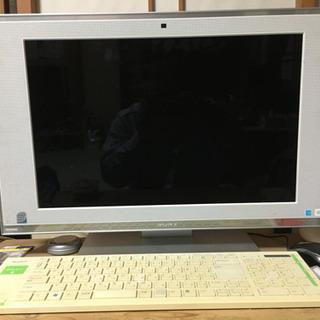 「急ぎ」「中古美品」デスクトップPC SONY VAIO VGC...