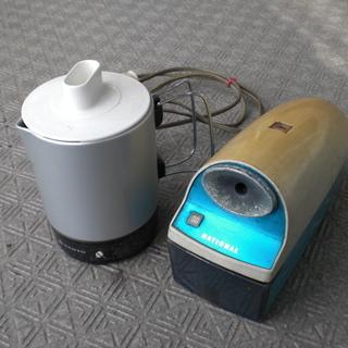 【昭和レトロ家電】 湯沸かしポット 鉛筆削り機