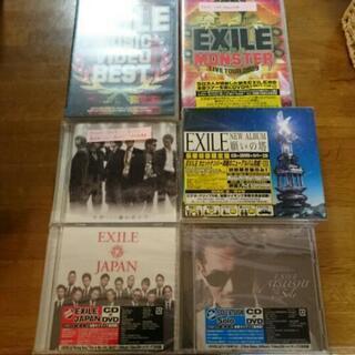 新品 エグザイル アルバム CD DVDなど六点セット