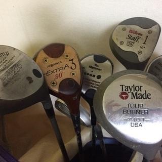 古いゴルフクラブあれこれ