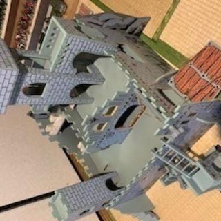 外国製 中世の城おもちゃ 兵隊 ままごと