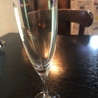 スパークリングワイングラス(フルート)