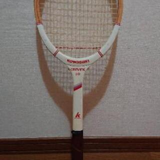 古いテニスラケット