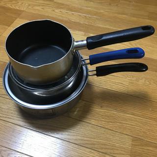 使用品 鍋 3つ