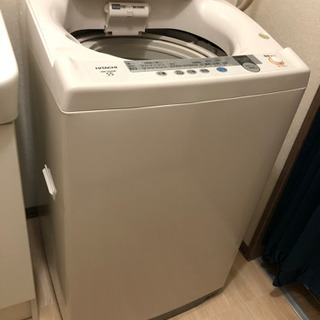 【取引完了】まだまだ現役の全自動洗濯機5.5kg