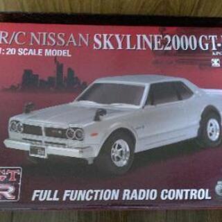 【ラジコンカー】R/C NISSAN スカイライン2000GT-...