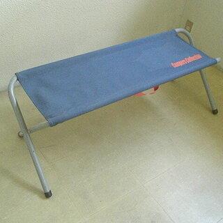 折畳式スタンダードベンチ 2人掛 ロイヤルブルー(キャンプ…