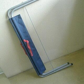 折畳式スタンダードベンチ 2人掛 ロイヤルブルー(キャンプ用長椅子)  - スポーツ