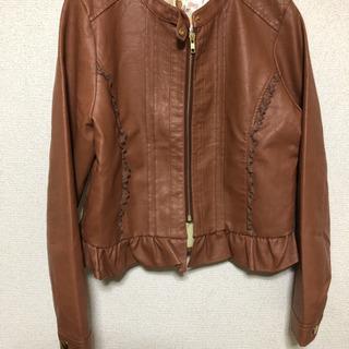 合成皮革ジャケット