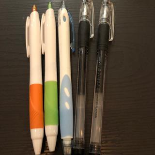 ボールペン5本セット