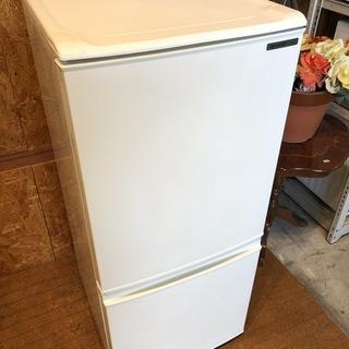 SHARP SJ-14R 137L 2ドア冷凍冷蔵庫 2009年