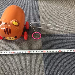 【値下げ】りすのお散歩コロコロ  ビニール製  - おもちゃ